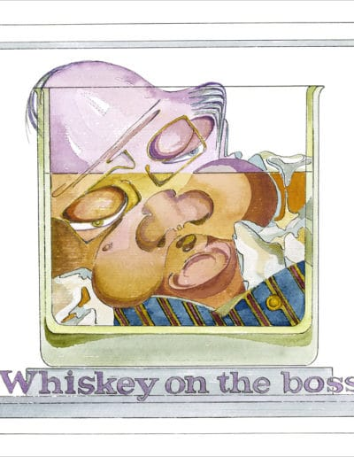Whiskey On The Boss